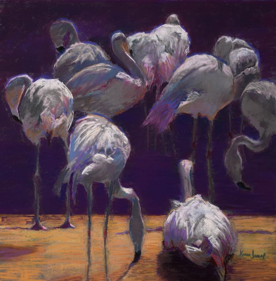 """""""Out of A Dream"""" original fine art by Karen Israel"""