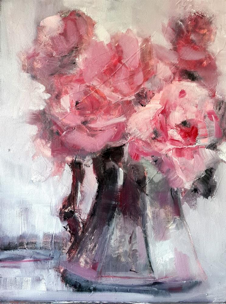 """Vintage revisited"" original fine art by Rentia Coetzee"