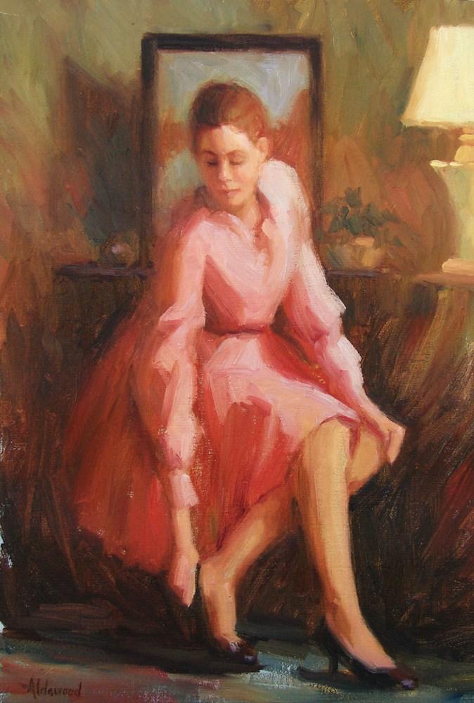 """""""Retro Fashion"""" original fine art by Sherri Aldawood"""