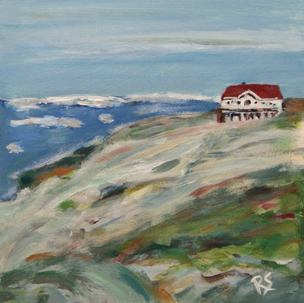 """At the Edge of Greenland"" original fine art by Roberta Schmidt"