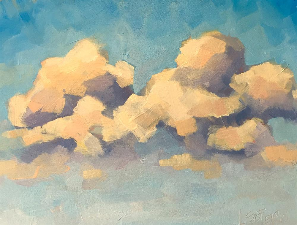 """Cloudscape 1"" original fine art by Lisa Sotero"