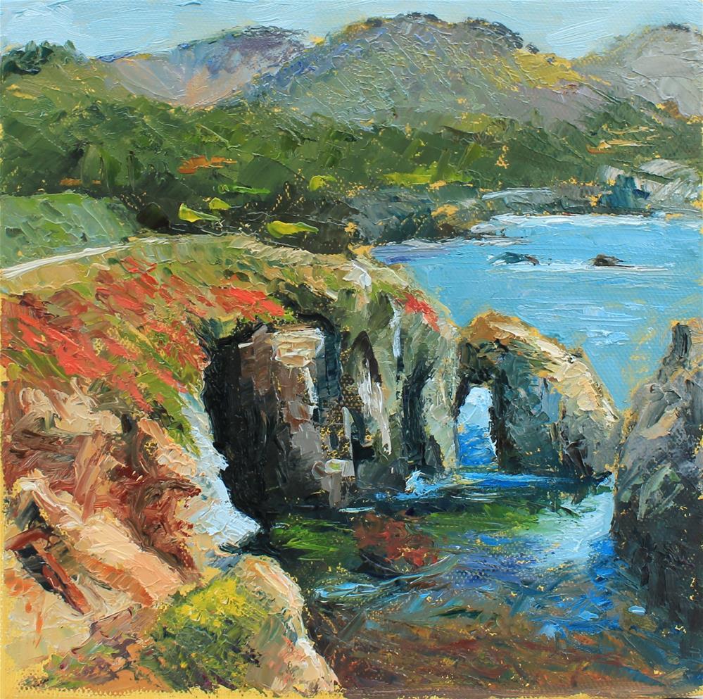"""""""Point lobos landscape"""" original fine art by Marco Vazquez"""