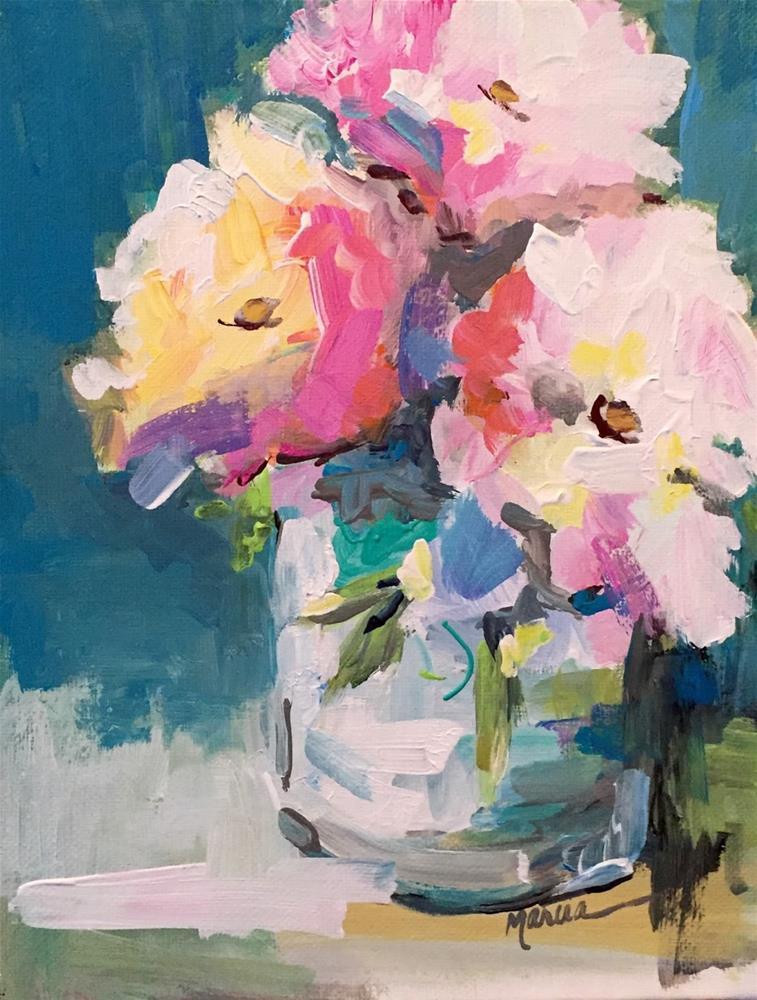 """Serenity"" original fine art by Marcia Hodges"