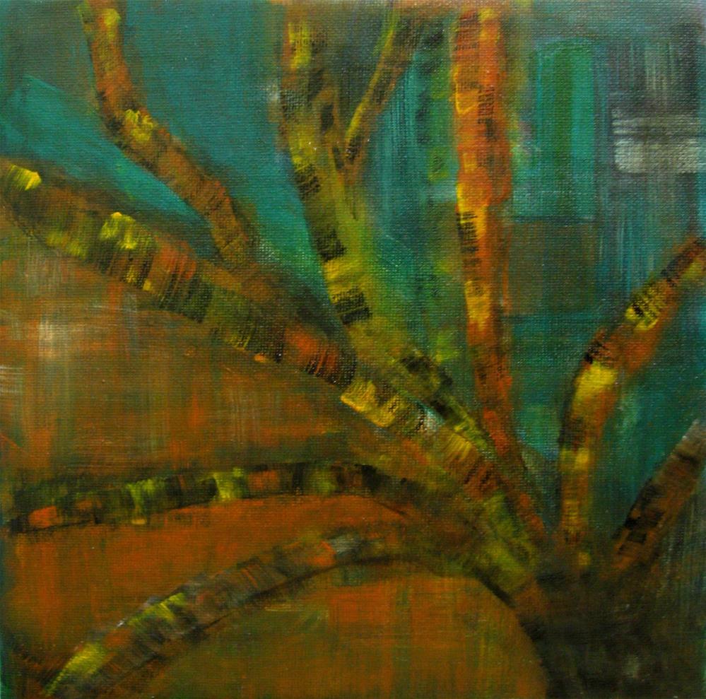"""Tree Heat"" original fine art by Alina Frent"