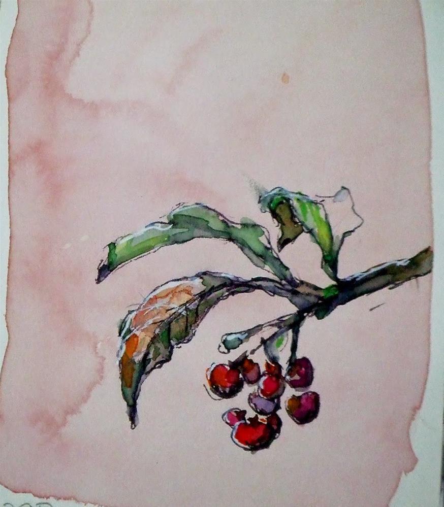 """""""Moleskin3"""" original fine art by Mitsuru Cope"""