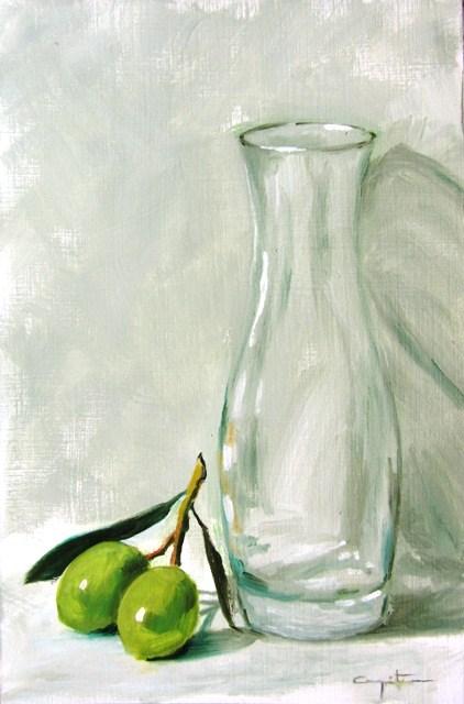 """""""Verdeo"""" original fine art by Eduardo Carpintero"""