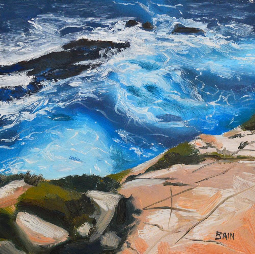 """Pt. Lobos"" original fine art by Peter Bain"