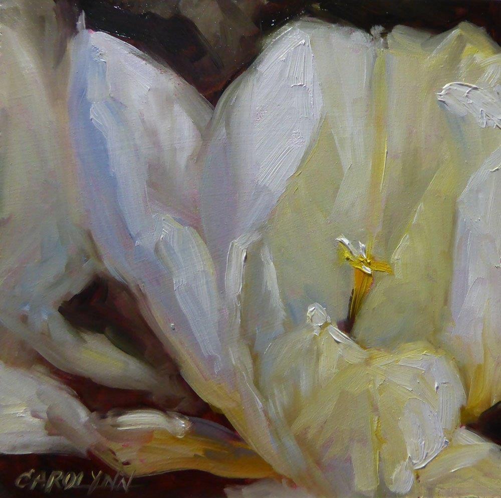 """""""Up Close"""" original fine art by Carolynn Doan"""