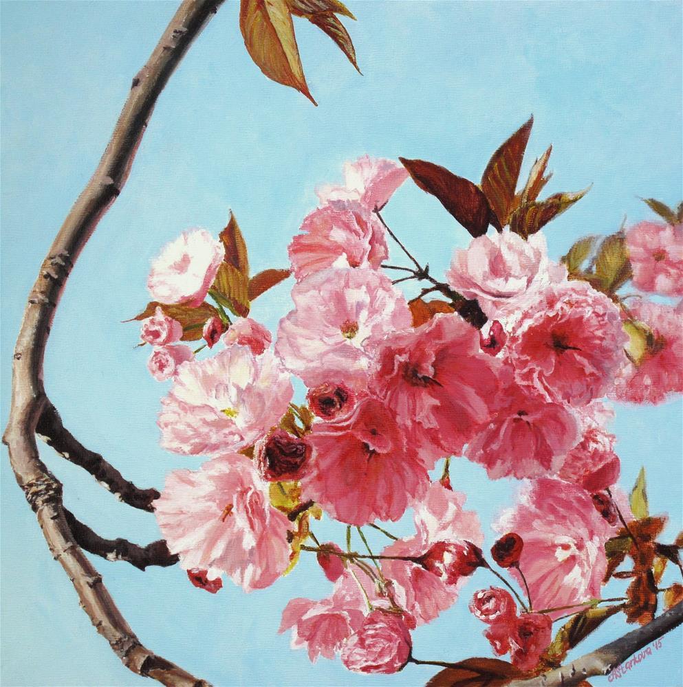 """Spring is in the air"" original fine art by Anna Starkova"