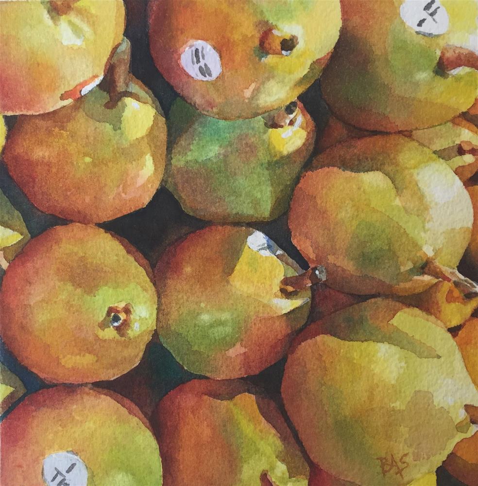 """Reap A Harvest"" original fine art by Barbara Scheihing"