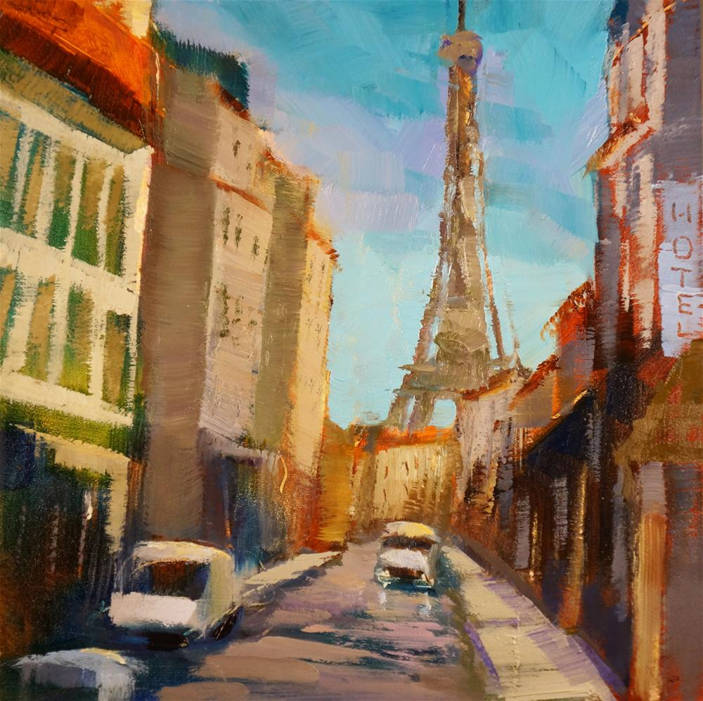 """Rue Saint-Dominique"" original fine art by Sue Harrell"