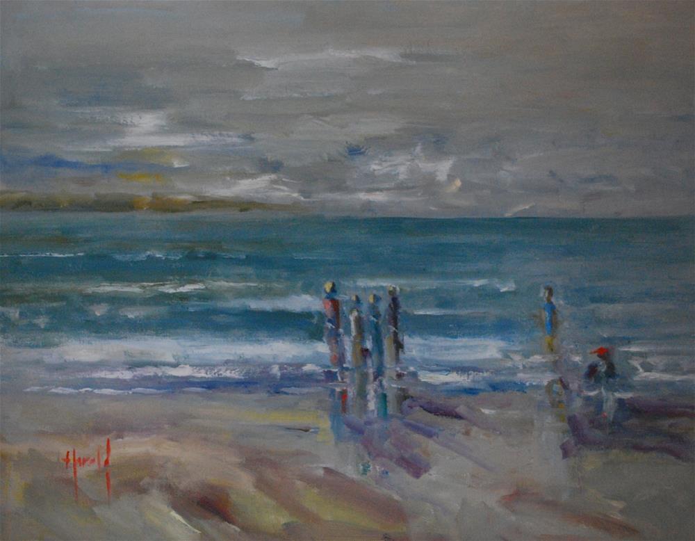 """Evening Tide"" original fine art by Deborah Harold"