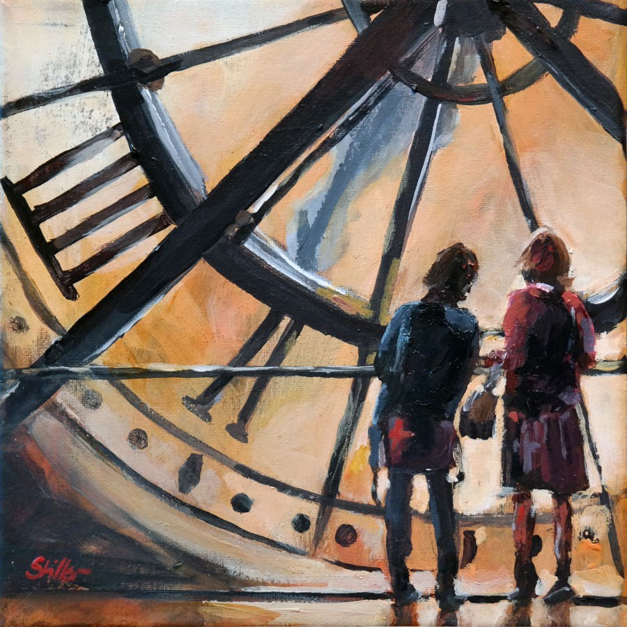 """1682 As time goes by"" original fine art by Dietmar Stiller"
