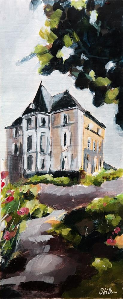 """2612 Rummelsdorf"" original fine art by Dietmar Stiller"