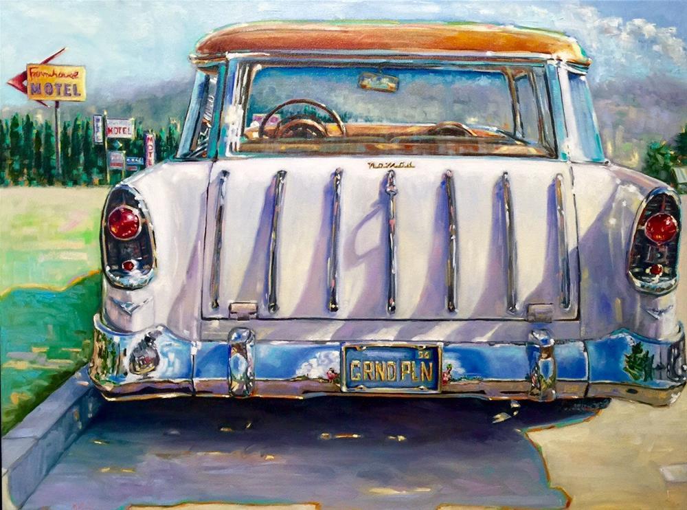"""""""The Nomad"""" original fine art by Mb Warner"""