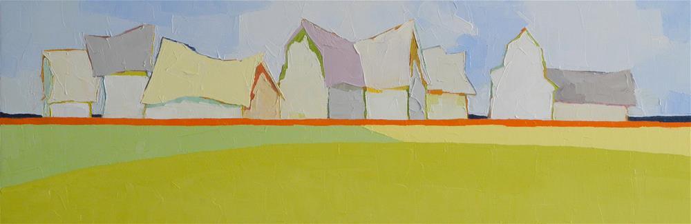 """Symphony IV"" original fine art by Donna Walker"
