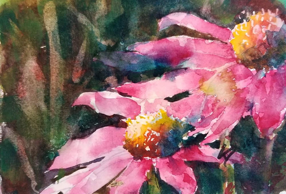 """Sun Kissed"" original fine art by Sue Dion"