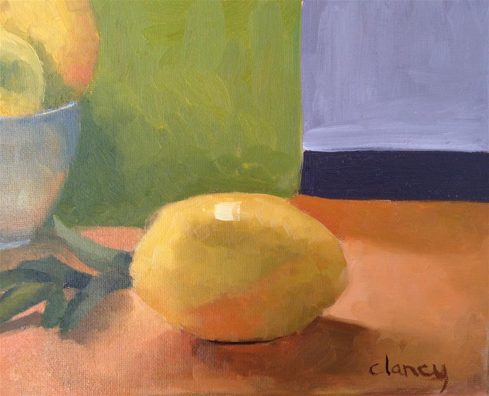 """One Giant Lemon For Mankind"" original fine art by Catherine Clancy"