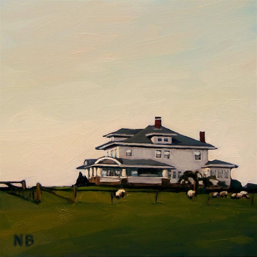 """Greener Grass"" original fine art by Nora Bergman"