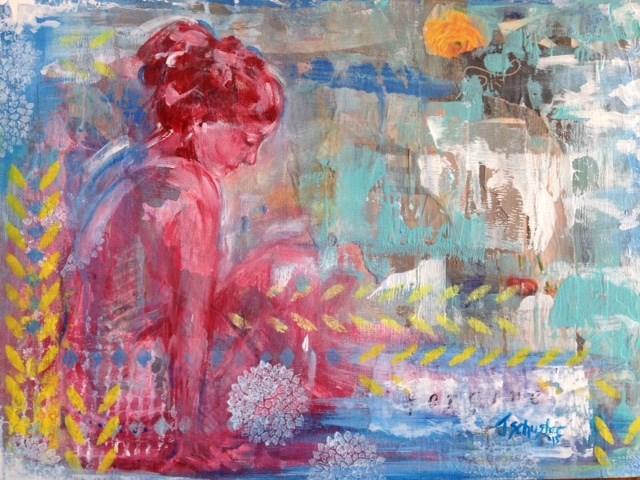 """""""Forgive"""" original fine art by Juli Schuster"""