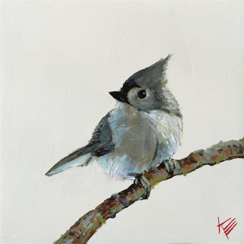 """Tuffy"" original fine art by Krista Eaton"