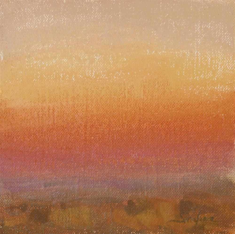 """Fall Sunrise 06"" original fine art by Scott Serafica"