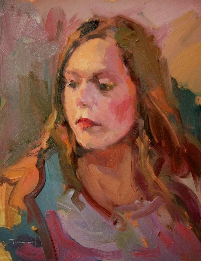 """Far Away"" original fine art by Kathryn Townsend"
