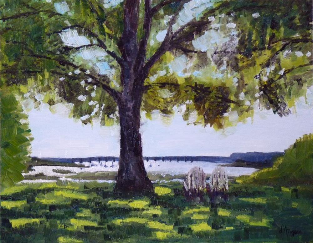 """Beaufort"" original fine art by Karen D'angeac Mihm"