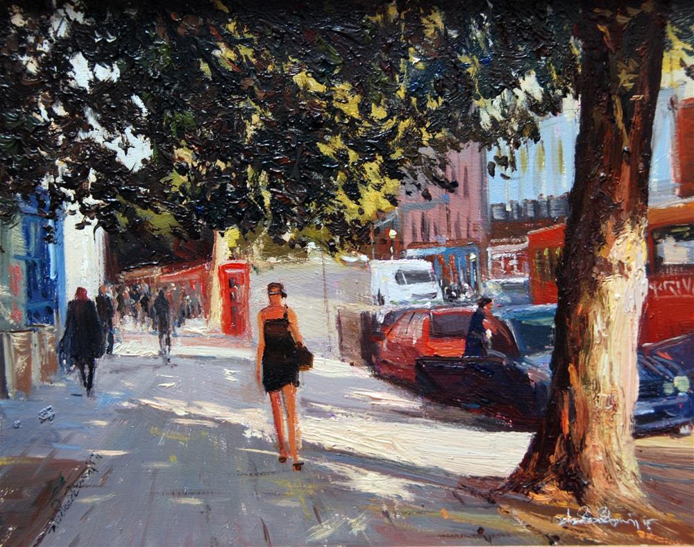 """Urban Shadow Highlights"" original fine art by Adebanji Alade"