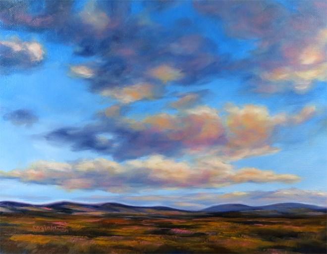 """""""Float On By"""" original fine art by Carol Zirkle"""