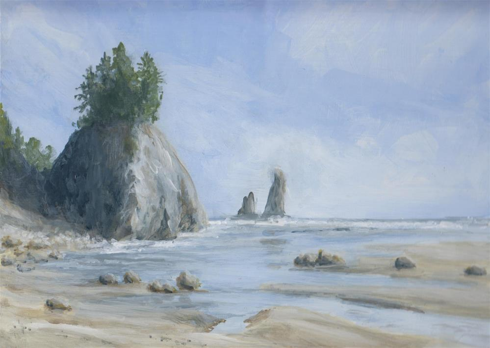 """West Coast Vibe"" original fine art by Staar Caswell"