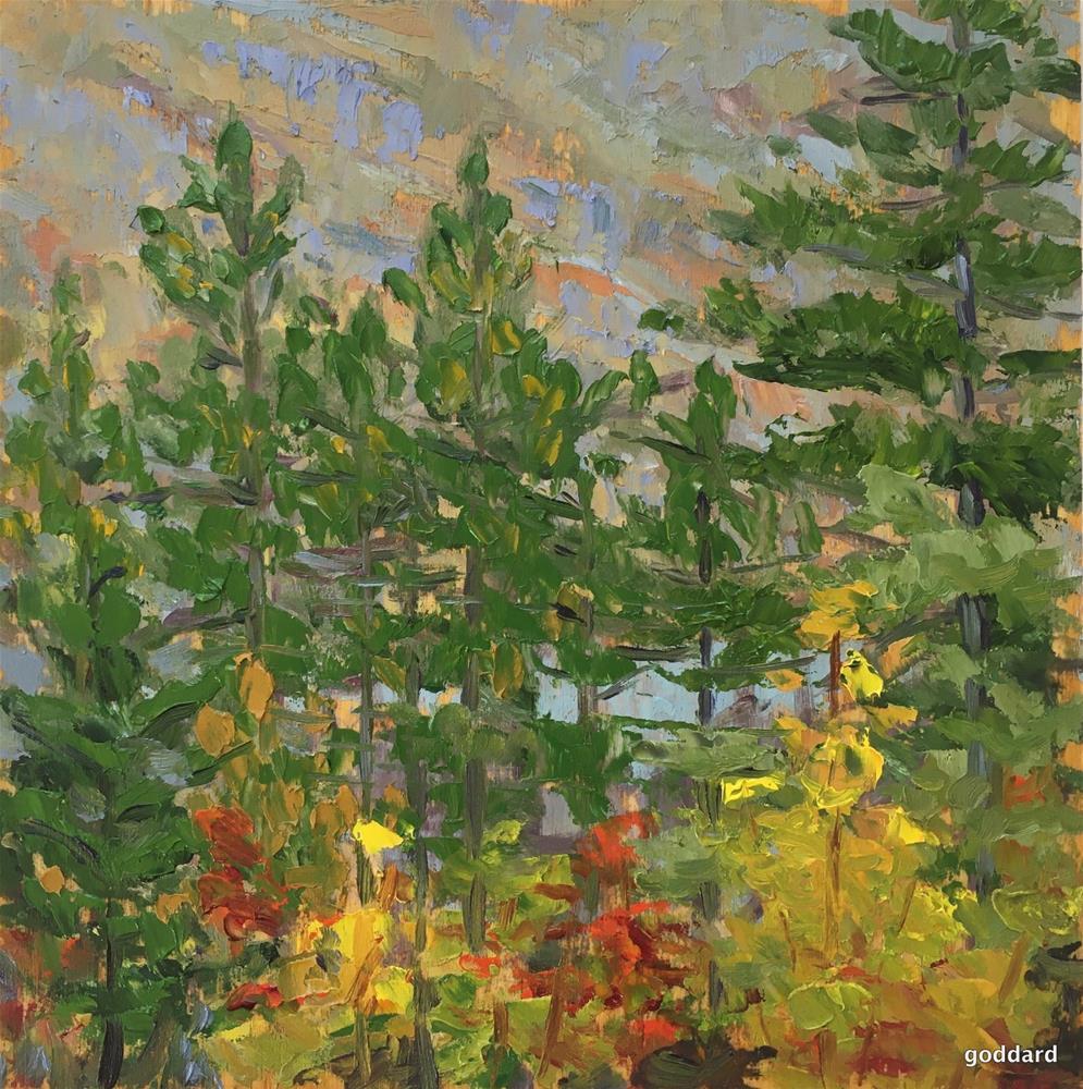 """Autumn Perspective"" original fine art by Shari Goddard Shambaugh"