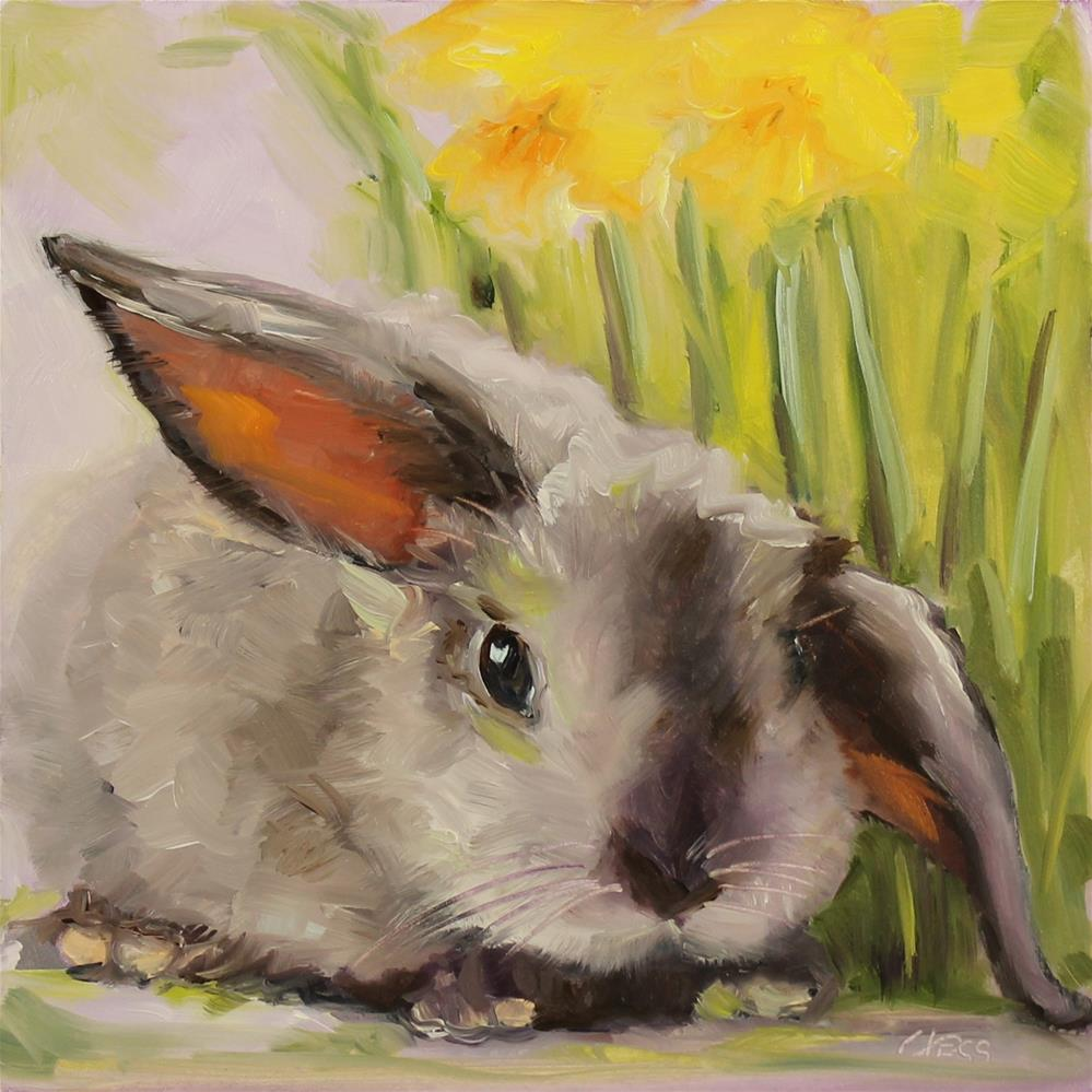 """Garden Party- Rick Nelson"" original fine art by Tess Lehman"