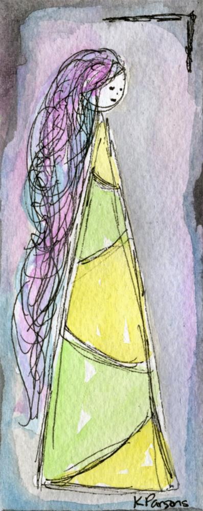 """Gaze"" original fine art by Kali Parsons"