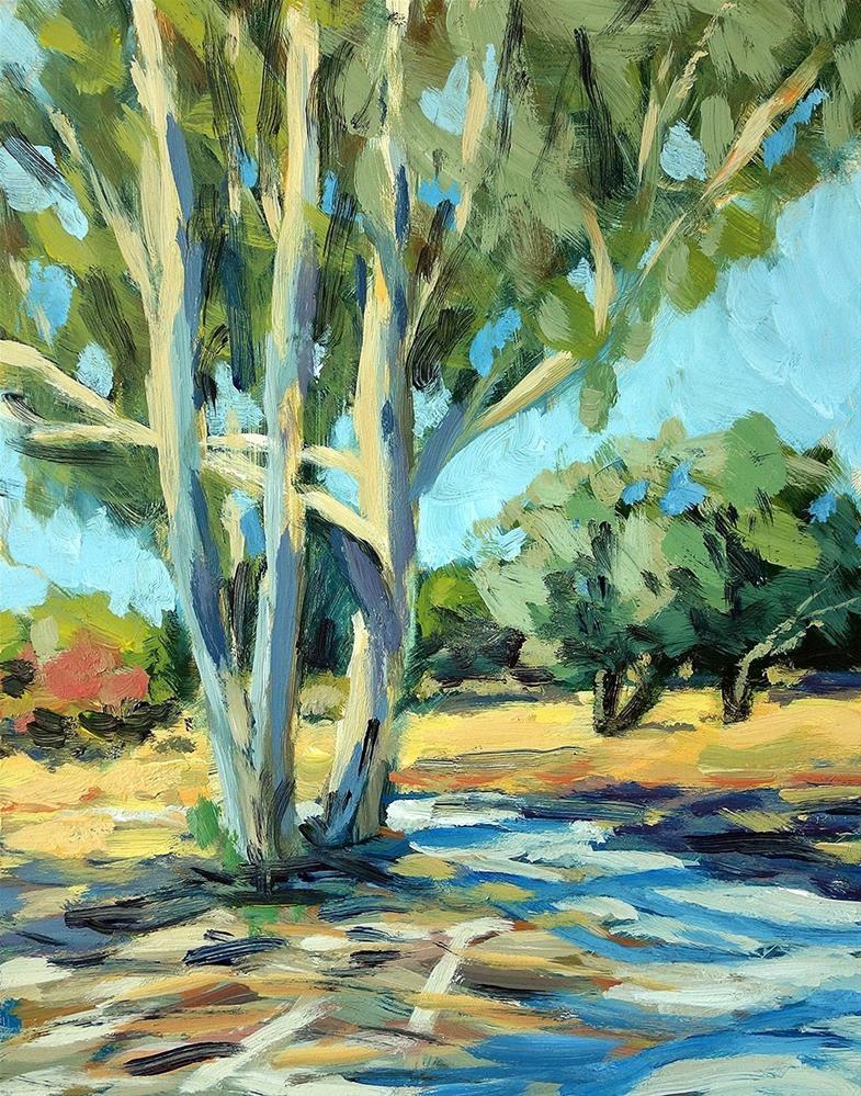 """""""Eucalyptus"""" original fine art by J. Farnsworth"""