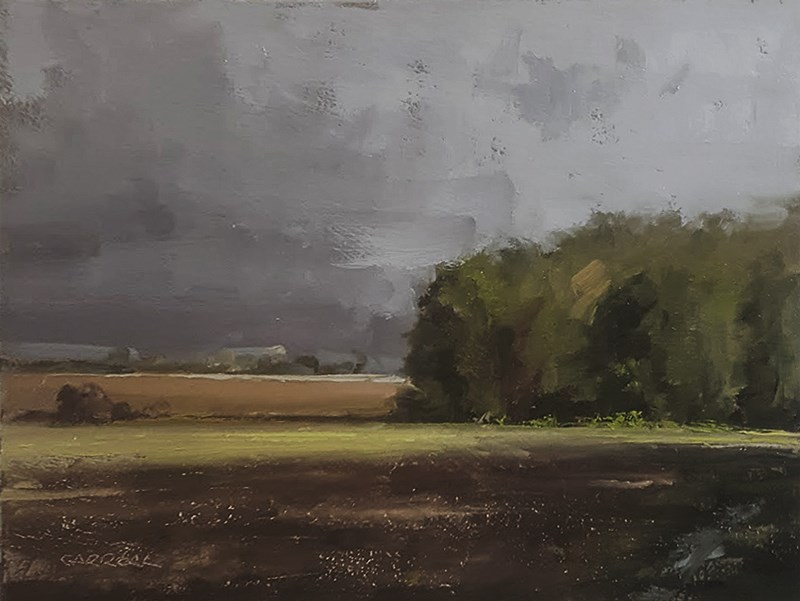 """Towards Wollaston"" original fine art by Neil Carroll"