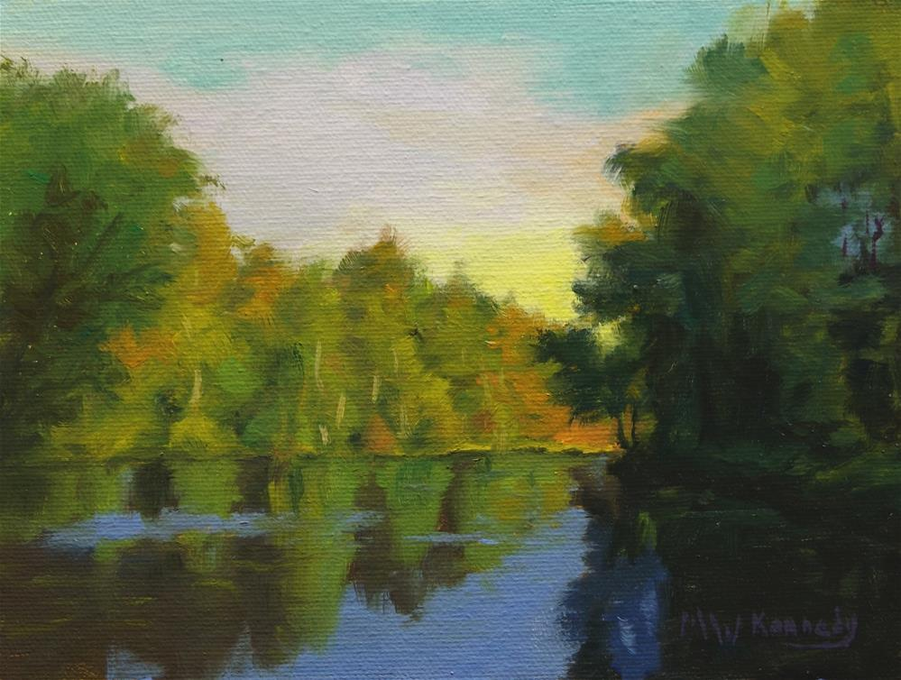 """Reflections #2"" original fine art by Michael Kennedy"
