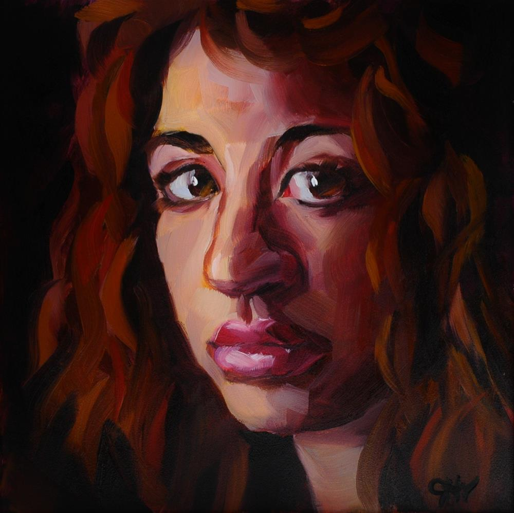 """""""Refuge"""" original fine art by Janette Harter"""