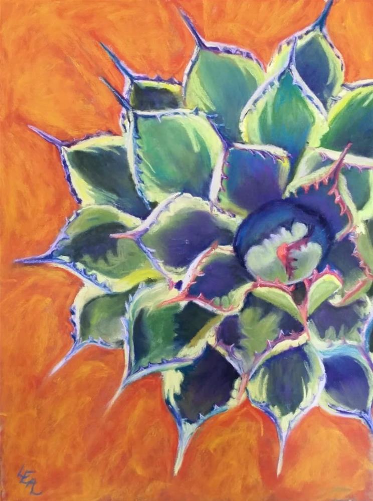 """Kaleidoscope"" original fine art by Anna Lisa Leal"