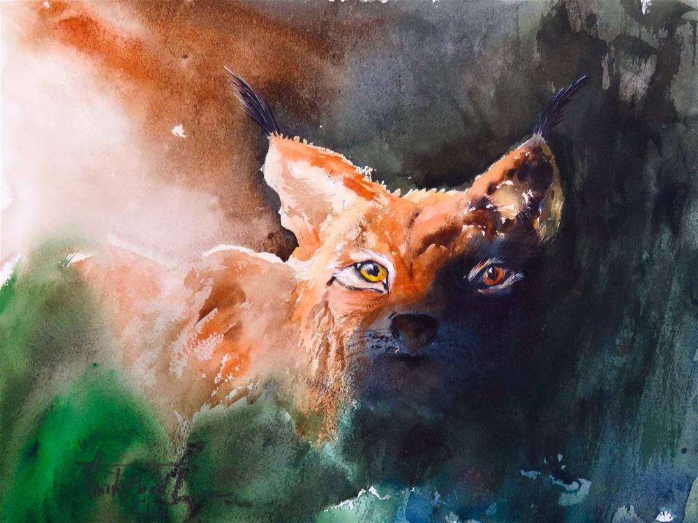 """Scouting"" original fine art by Christa Friedl"