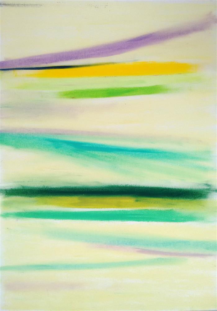 """""""Calming Down"""" original fine art by Adéla Svobodová"""