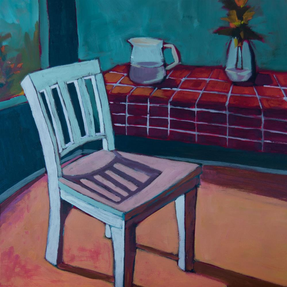 """0410: At the Breakfast Table"" original fine art by Brian Miller"