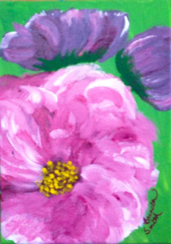 """""""Social Climber"""" original fine art by Brenda Smith"""
