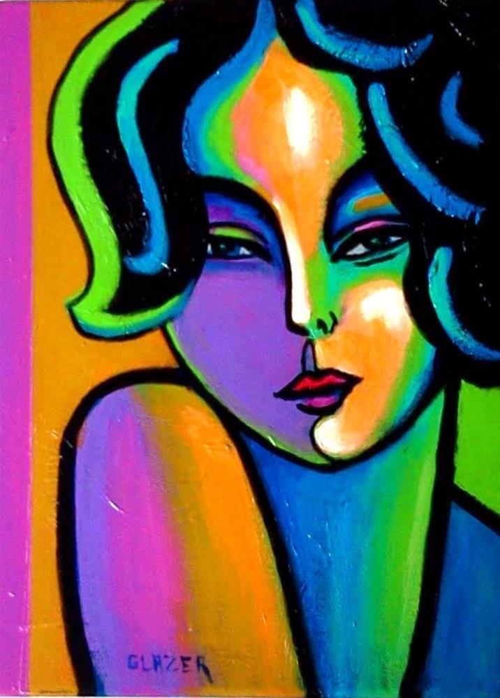 """Pink Coquette"" original fine art by Stuart Glazer"