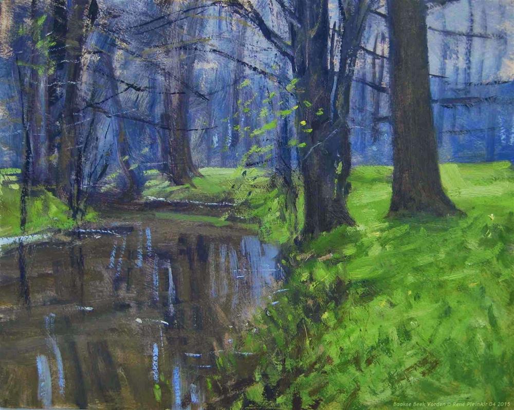 """Baakse Beek Vorden, The Netherlands"" original fine art by René PleinAir"