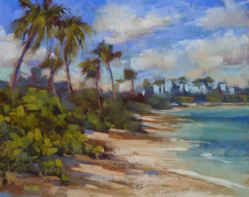 """How to Paint the Beach...New Pastel Demo PDF"" original fine art by Karen Margulis"