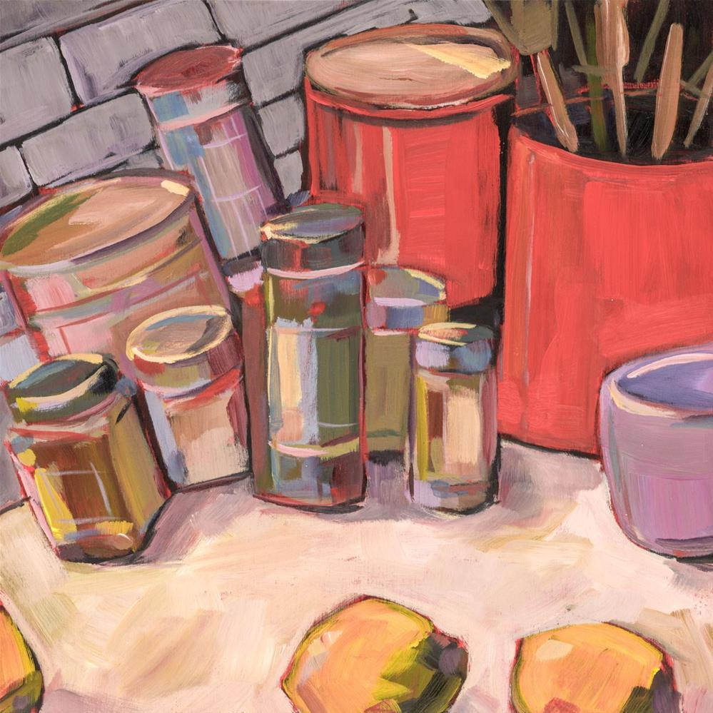 """0671: Cumin, Salt, Pepper and Oatmeal"" original fine art by Brian Miller"