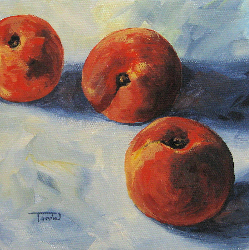 """Georgia Peach"" original fine art by Torrie Smiley"