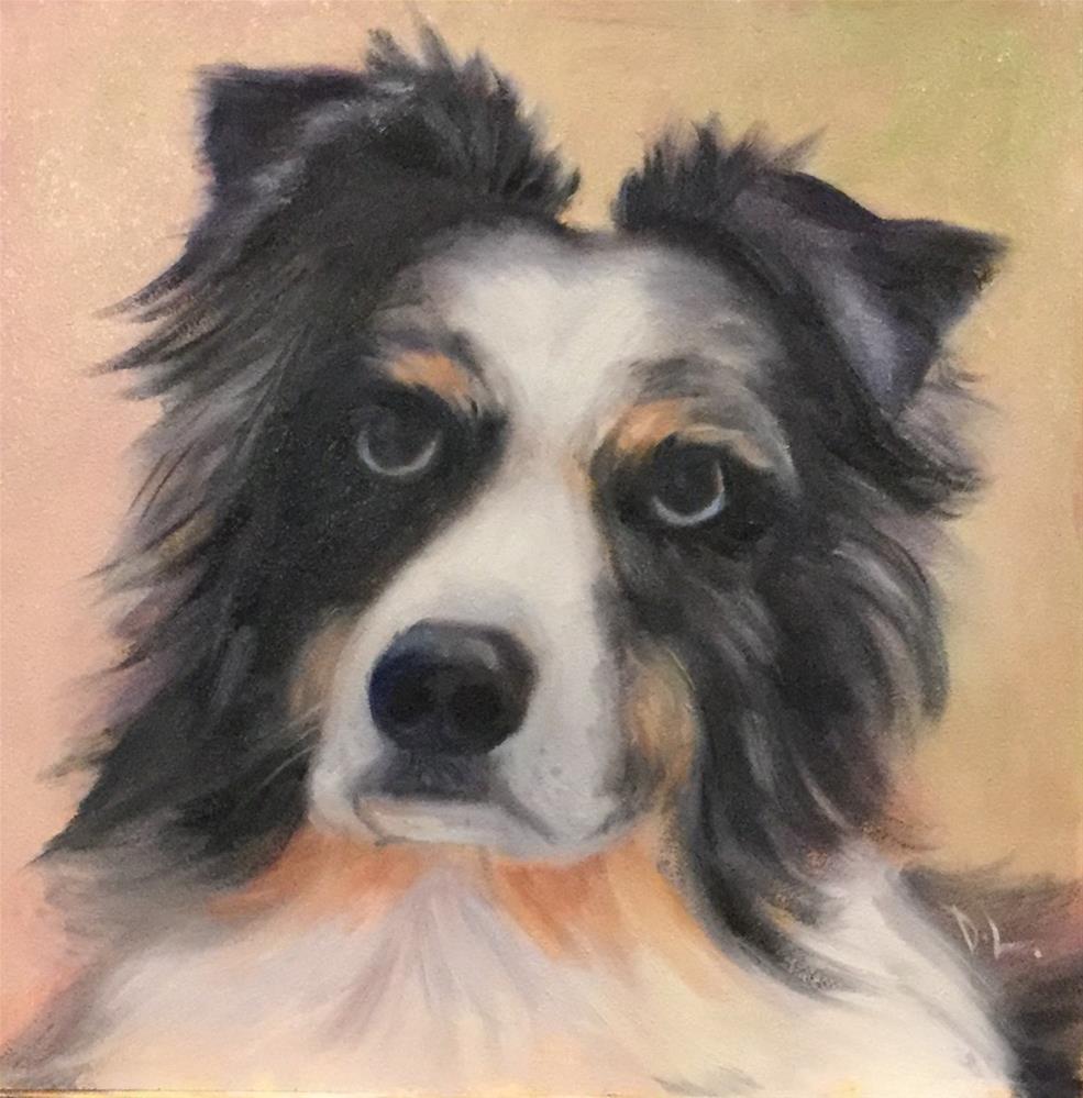 """""""Aussie"""" original fine art by Dee Lessard"""