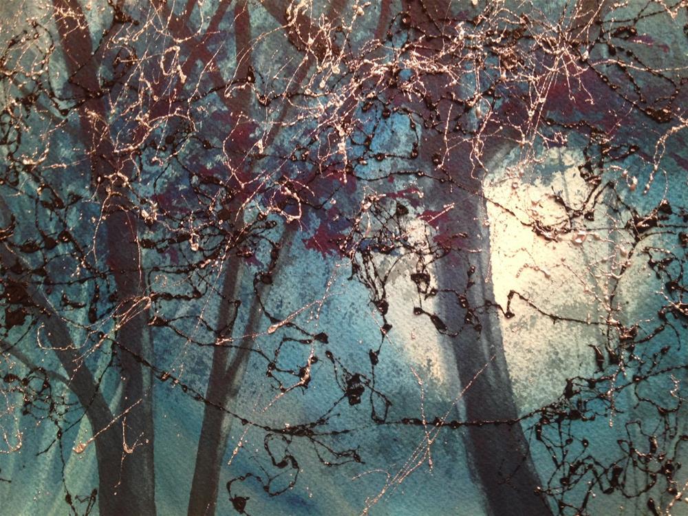 """Moonshine"" original fine art by Margie Whittington"